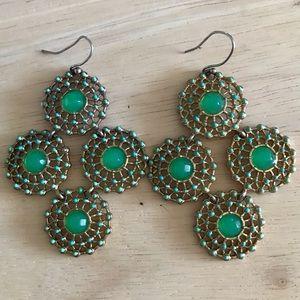 Stella & Dot Garden Party earrings